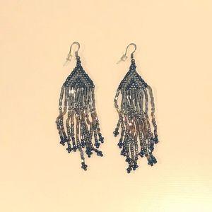 World Market Beaded Dangle Earrings